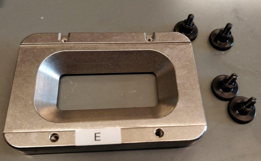 ASI coverslip holder
